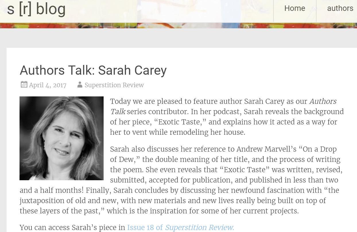 SarahAuthorsTalkPostWebsite
